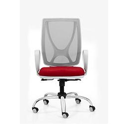 producto sillas operativas giratorias alma white