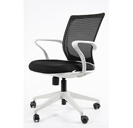 producto sillas operativas giratorias turin white